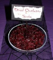 Dried Cranberry Scabs